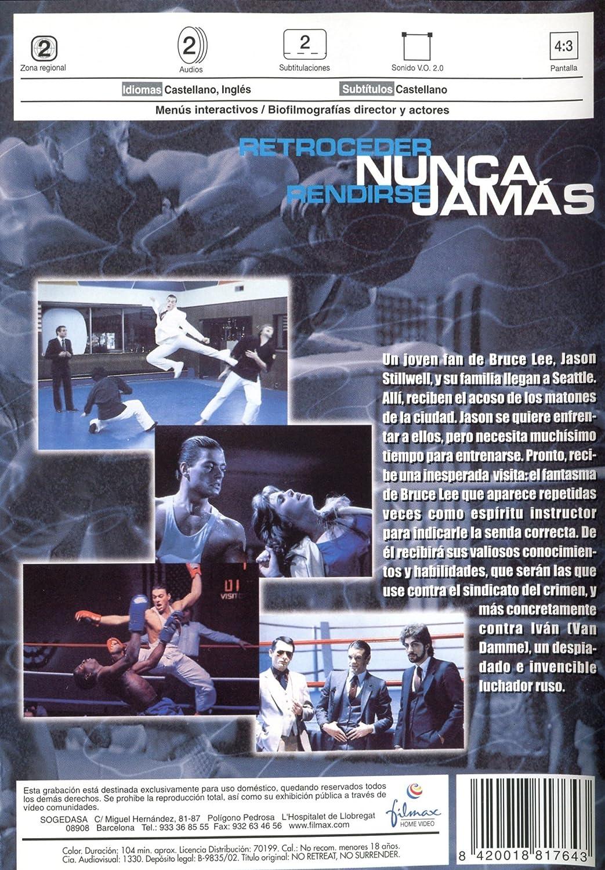 Retroceder Nunca Rendirse Jamas [DVD]: Amazon.es: Jean ...
