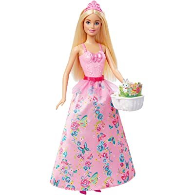 Barbie Easter Princess Doll: Toys & Games