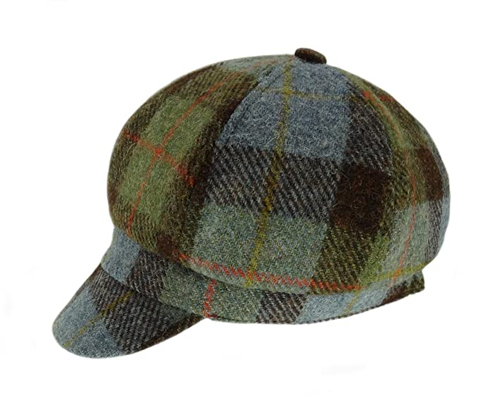 e9f0c00a06d Image Unavailable. Image not available for. Colour  Harris Tweed Ladies  100% Cap ...