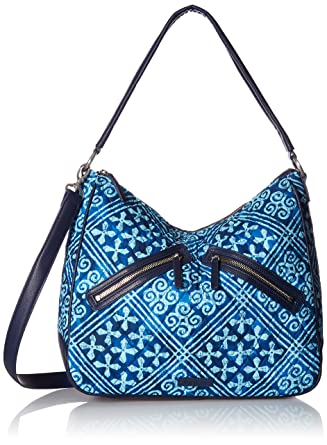 bc7a71a04544 Amazon.com  Vera Bradley Vivian Hobo Bag Cotton 1
