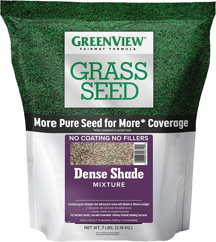 GreenView 2829343 Dense Shade Mixture Fairway Formula Grass Seed, 7 lb