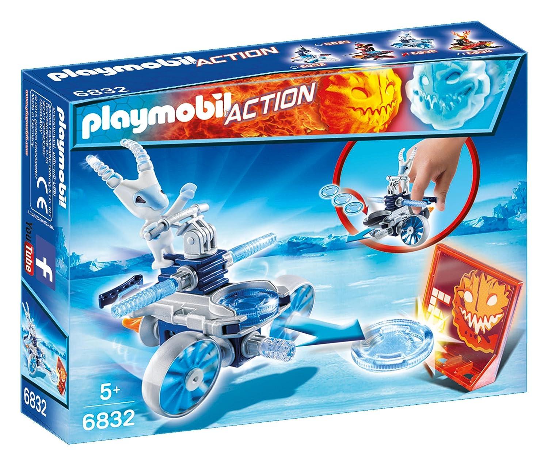 Playmobil Fire & Action - Robot de hielo con lanzador (6832)