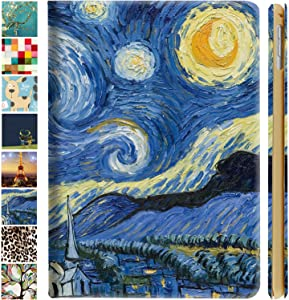 DuraSafe Cases iPad PRO 11 2020 MY232LL/A MXDC2LL/A MXDE2LL/A MXDG2LL/A MY252LL/A MXDD2LL/A MXDF2LL/A MXDH2LL/A MY332LL/A MXEW2LL/A MXEY2LL/A Ultra Slim Cover, Auto Sleep/Wake Function - Starry Night