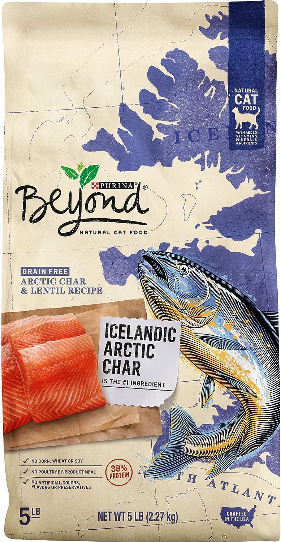 Purina Beyond Grain Free, Natural, High Protein Dry Cat Food, Icelandic Arctic Char & Lentil Recipe - 5 lb. Bag