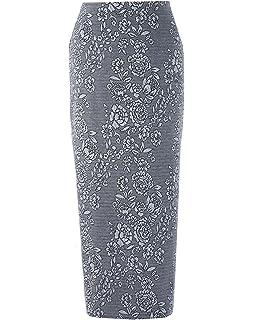 JD Williams Womens Velour Pencil Skirt