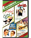 4 Film Favorites: Classic Holiday Vol. 1 (Boys Town, A Christmas Carol, Christmas in Connecticut, The Singing Nun)