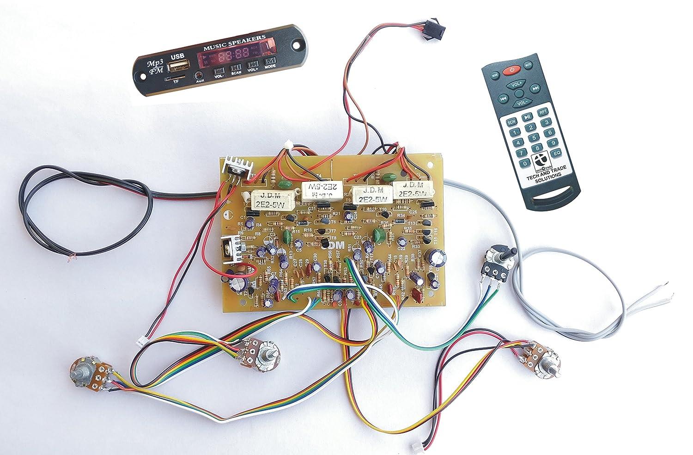 250w Diy 2n3055 Transistor Based Stereo Audio Amplifier 260w Power Circuit Design Electronics