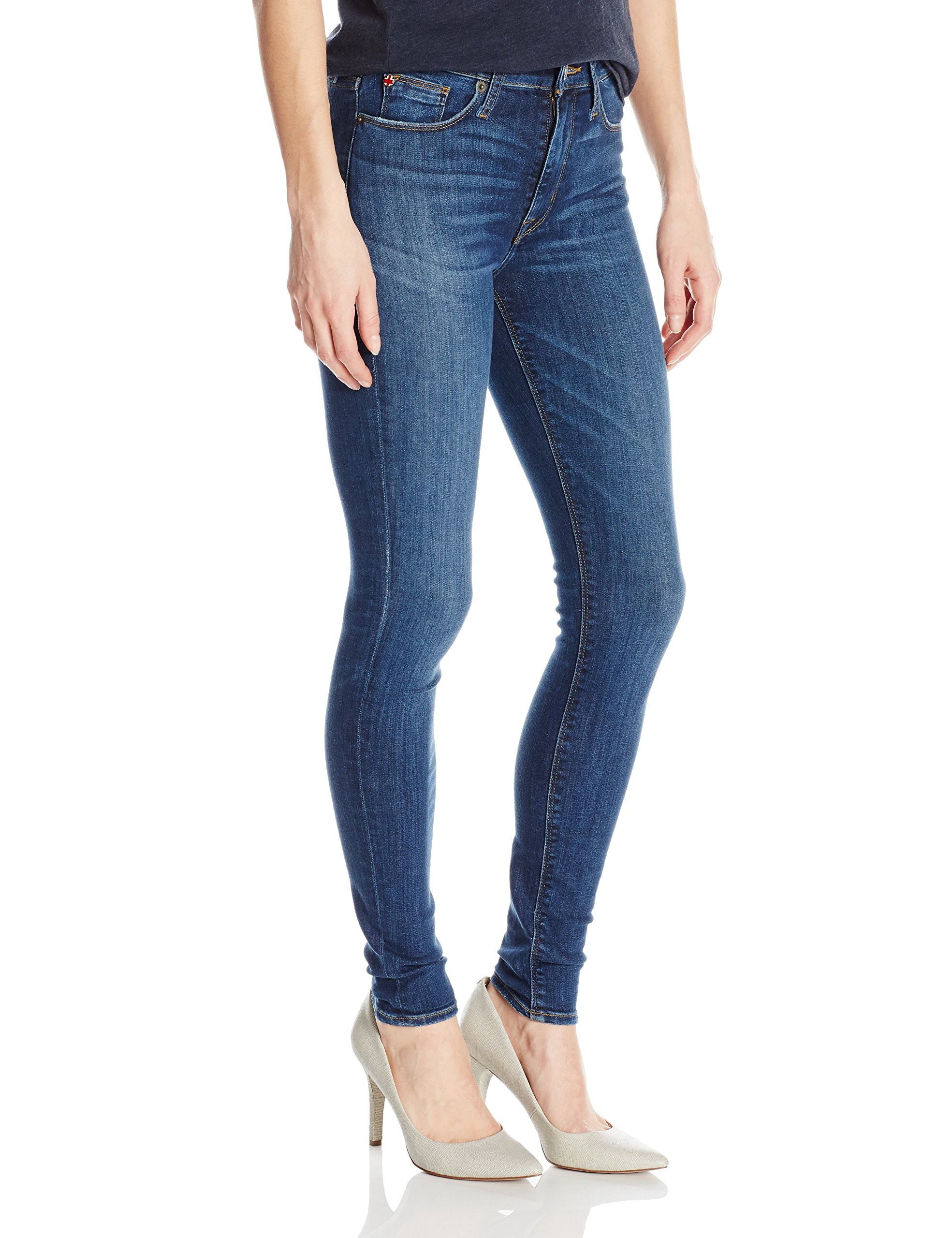 Hudson Jeans Women's Barbara High Waist Super Skinny Jean, Dream on, 26 by Hudson Jeans