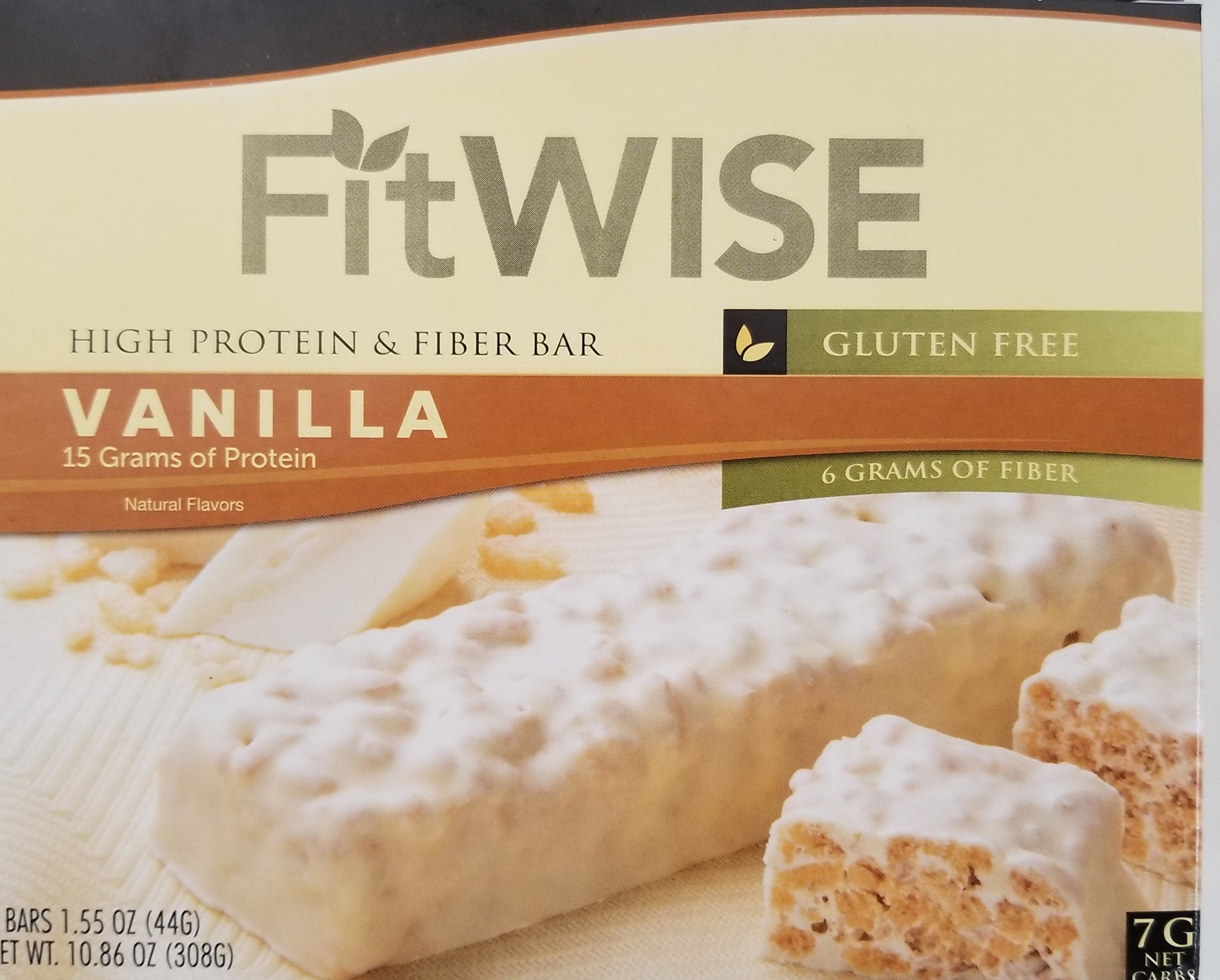 Fit Wise Divine Vanilla Bar Ideal Protein Compatible