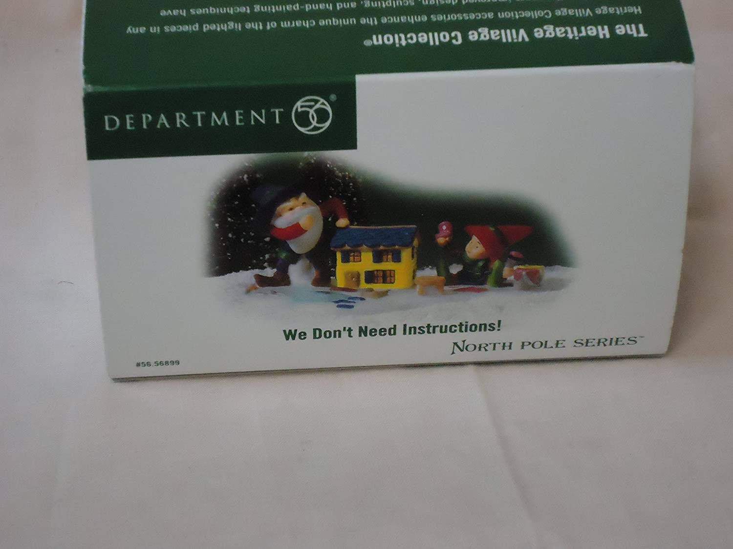 Department 56 North Pole We Dont Need Instructions!