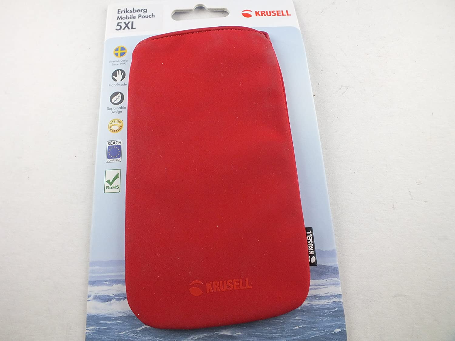 Krusell Eriksberg Mobile Pouch for 5XL, Rot Red: Amazon