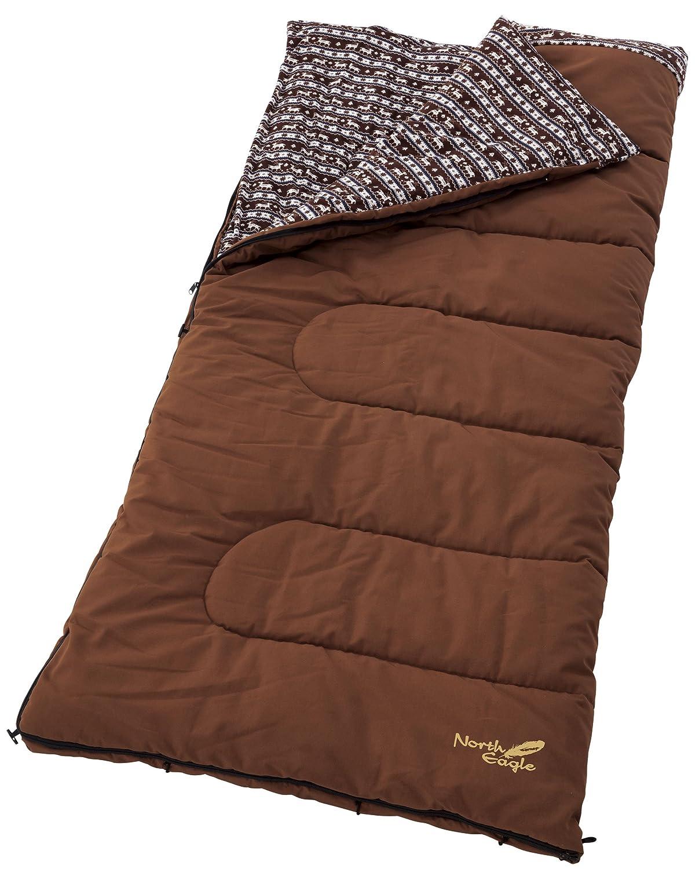 North Eagle(ノースイーグル) 寝袋 キャンバスコットンシュラフ (最低使用温度3度) NE226
