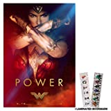 Amazon Price History for:Wonder Woman (2017) - Power - 13 in x 19 in Movie Poster Flyer Borderless + Free Bookmark