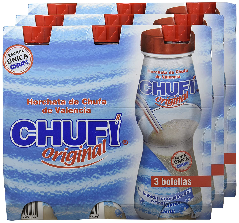 Chufi Original - Bebida naturalmente refrescante - 3 x 250 ml - [Pack de 3]: Amazon.es: Alimentación y bebidas
