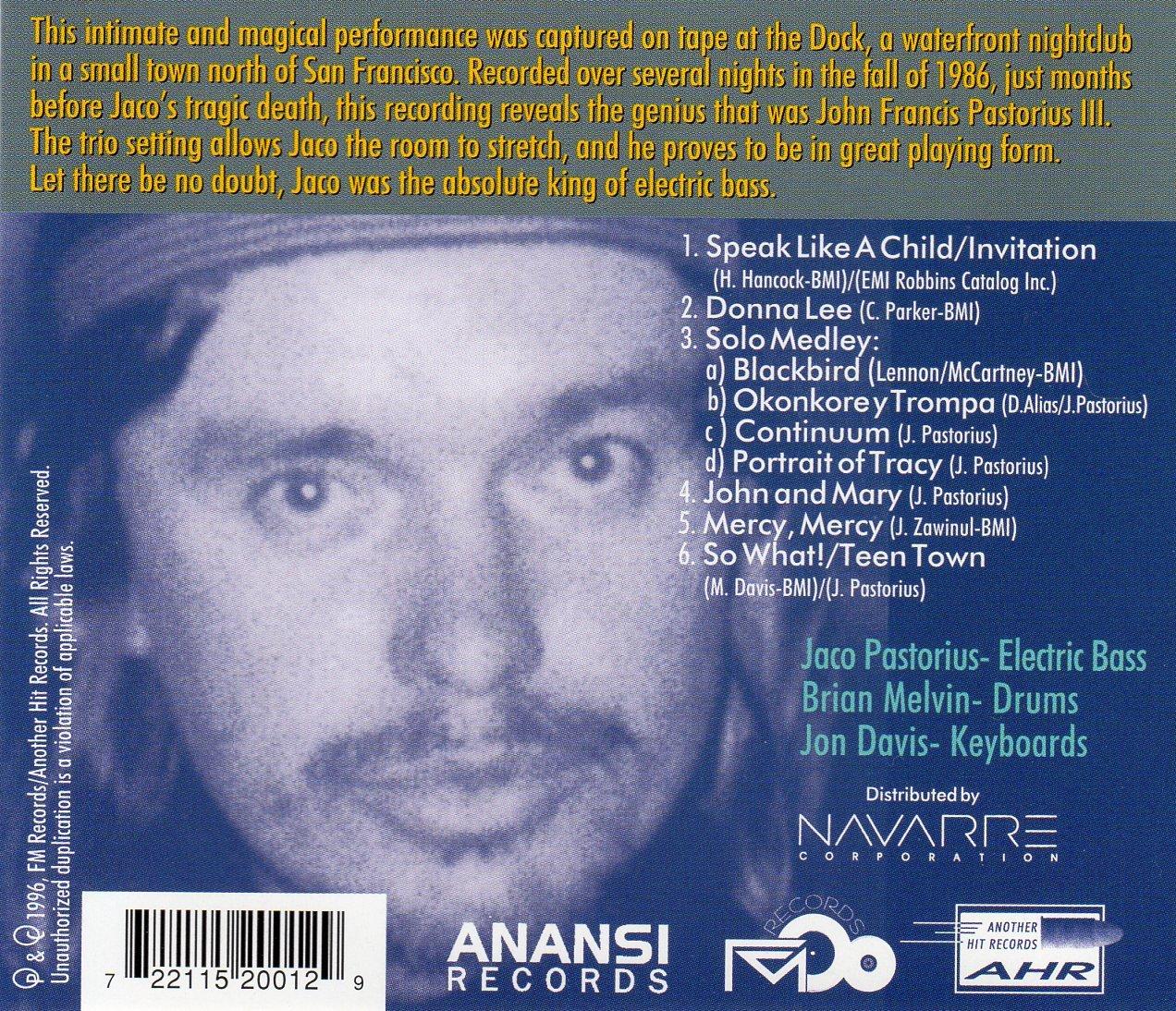 Jaco pastorius curtain call amazon music stopboris Choice Image