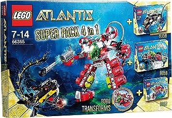 LEGO 66365 Atlantis - Pack 4 en 1: Amazon.es: Juguetes y juegos