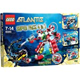 Lego 66365 - Atlantis 4 in 1 set (8058+8059+8057+8080 exclusive Pack)