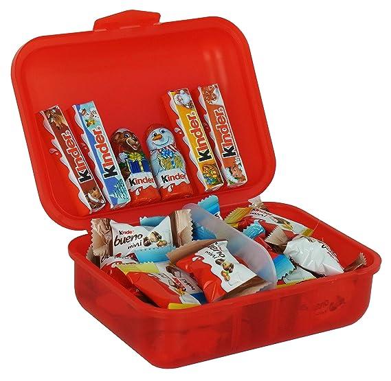 Coffret Cadeau De Noël Lunch Box Avec Ferrero Kinder Minis 267g