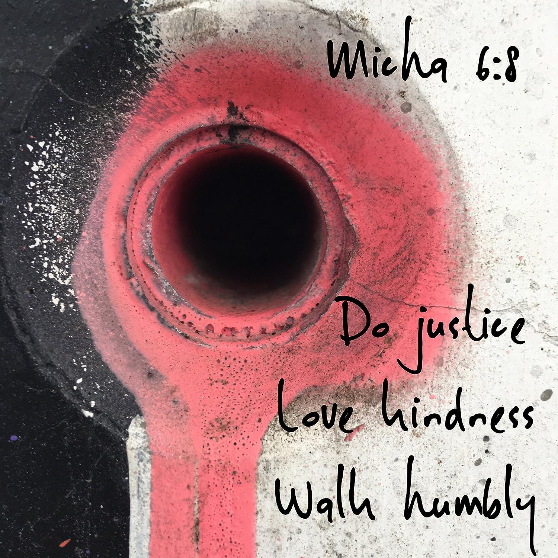 Amazon Christian Quote Sticker Bible Verse Do Justice Love