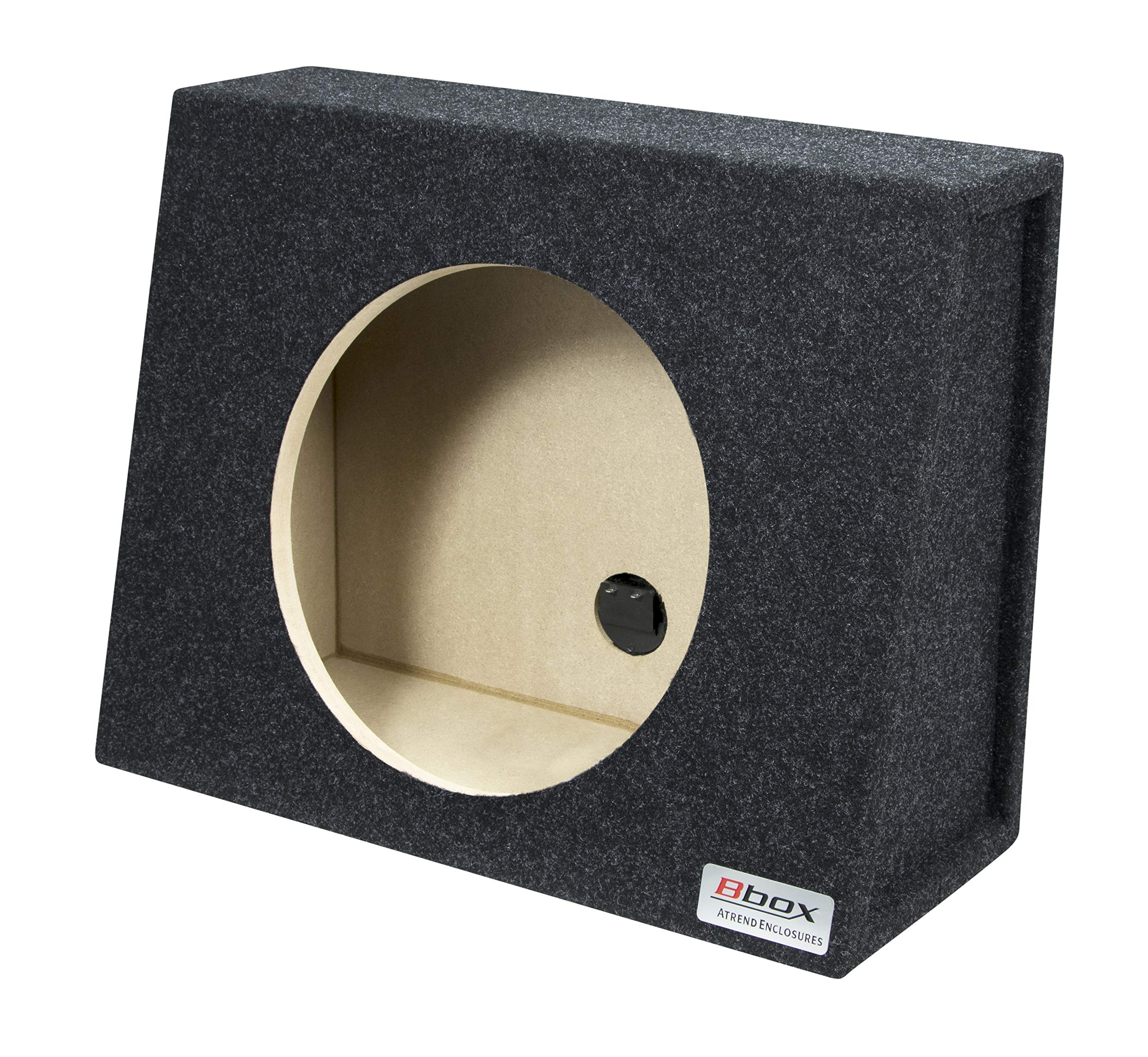 Bbox E12ST Single 12'' Sealed Carpeted Truck Subwoofer Enclosure by Atrend