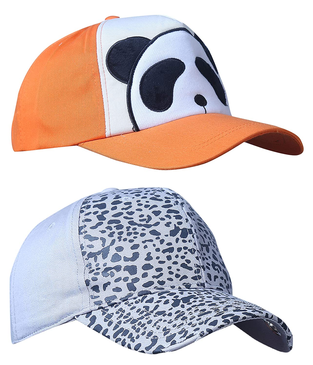 5945a058084 Zacharias Unisex Cotton Printed Baseball Cap Pack of 2 Free Size 5926   Amazon.in  Clothing   Accessories