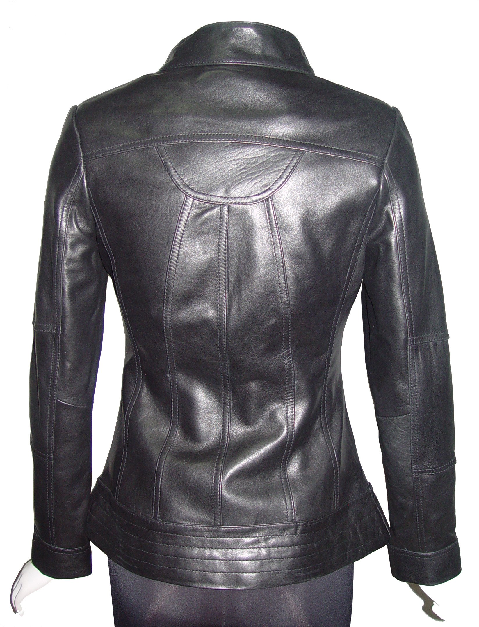 Nettailor 4173 Real Leather Womens Jackets Best Cool Stylish Expensive Lining by Paccilo (Image #3)
