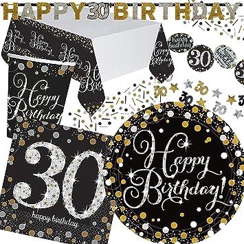 45 piezas Party * Sparkling Celebration * para el 30 ...