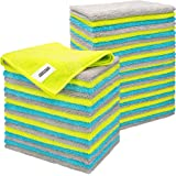 FIXSMITH Microfiber Cleaning Cloth - Pack of 50, Multi-Functional Cleaning Towels, Size: 12 x 16 in, Highly Absorbent…
