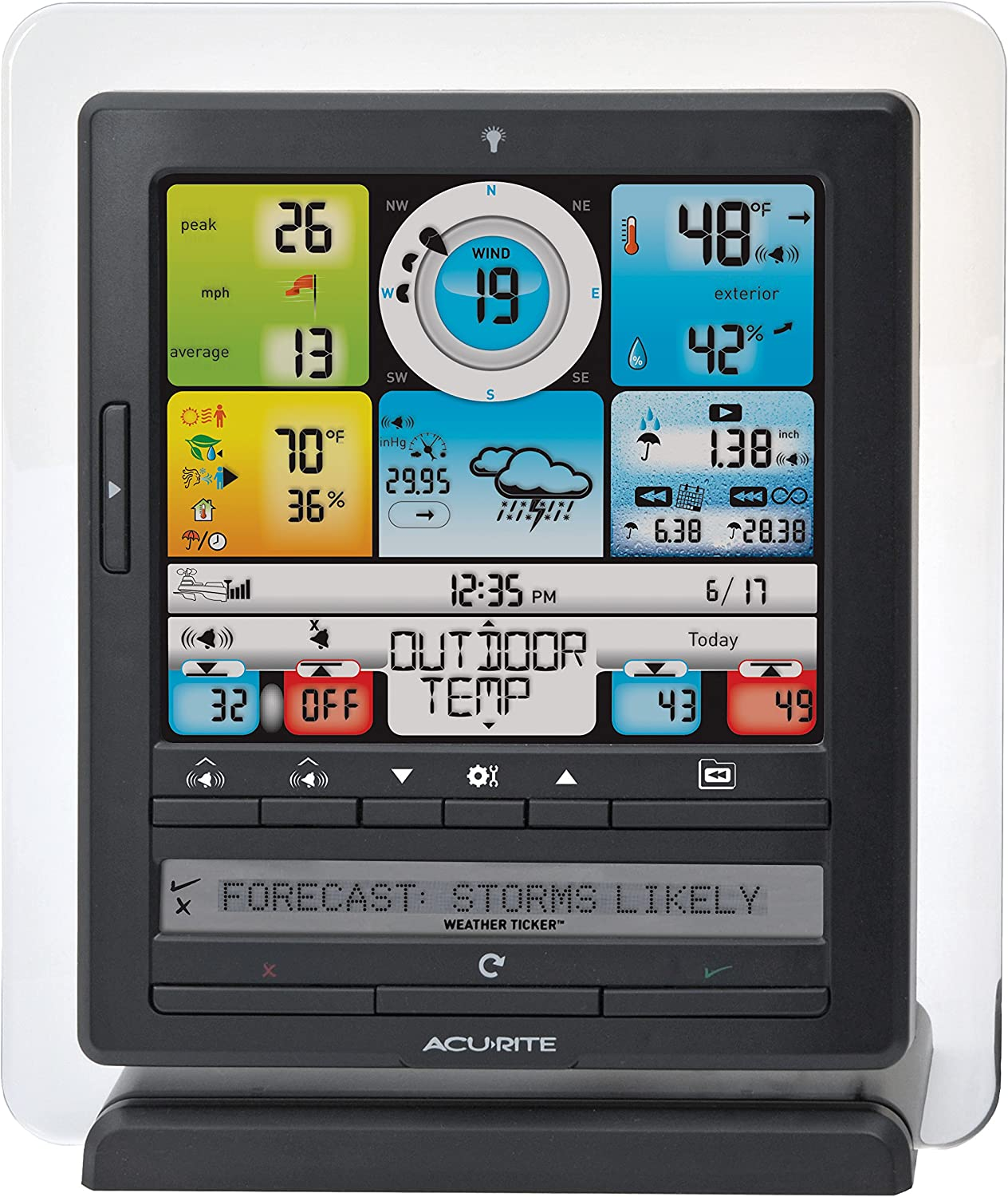 AcuRite Color Display 5-in-1 Weather Sensor