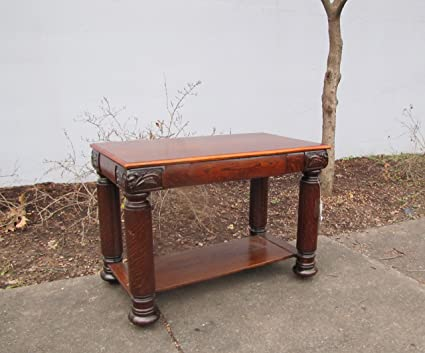 Superb Antique Larkin (Buffalo, NY) Oak Table w230 - Amazon.com: Superb Antique Larkin (Buffalo, NY) Oak Table W230