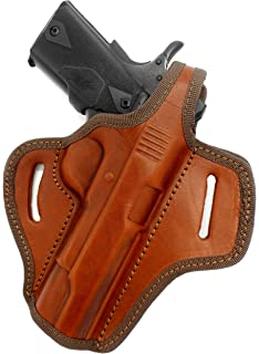 Amazon com : Cebeci Arms Black Leather OWB Right Hand Thumb