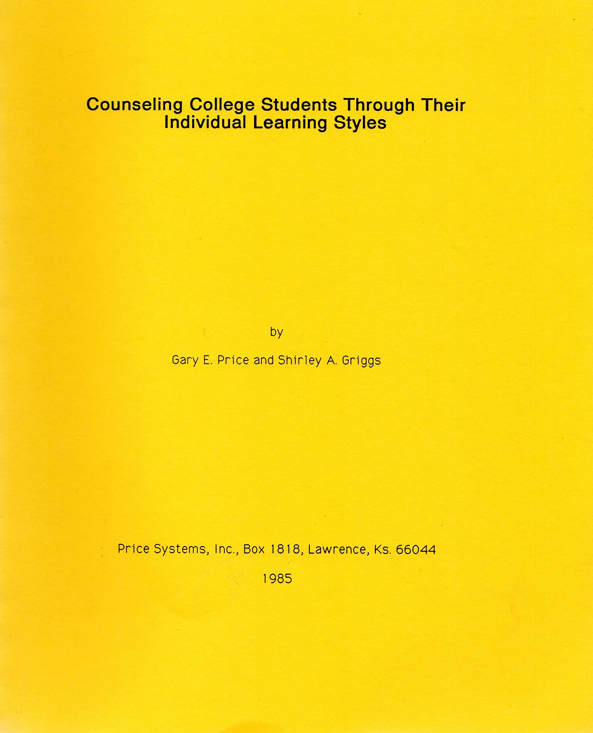 Counseling College Students Through Their Individual Learning Styles