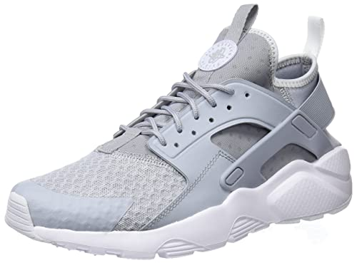 e75b85b83f2 Nike Men s Air Huarache Run Ultra Wolf Grey Pale Grey White Running Shoe  8.5 Men US  Buy Online at Low Prices in India - Amazon.in