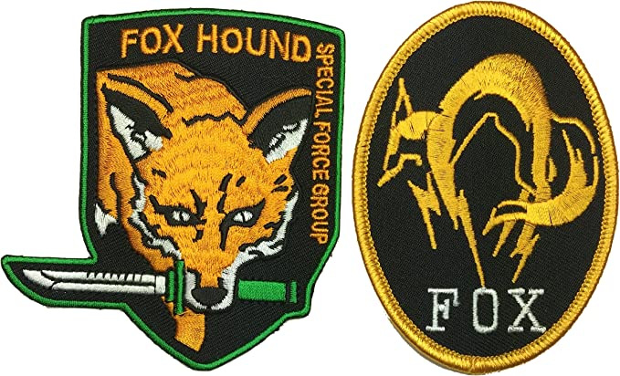 Patch Squad Metal Gear Fox Hound Patch Set Of 2 By By Küche Haushalt