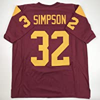 $49 » Unsigned O.J. OJ Simpson USC Red Custom Stitched College Football Jersey Size Men's XL New No Brands/Logos