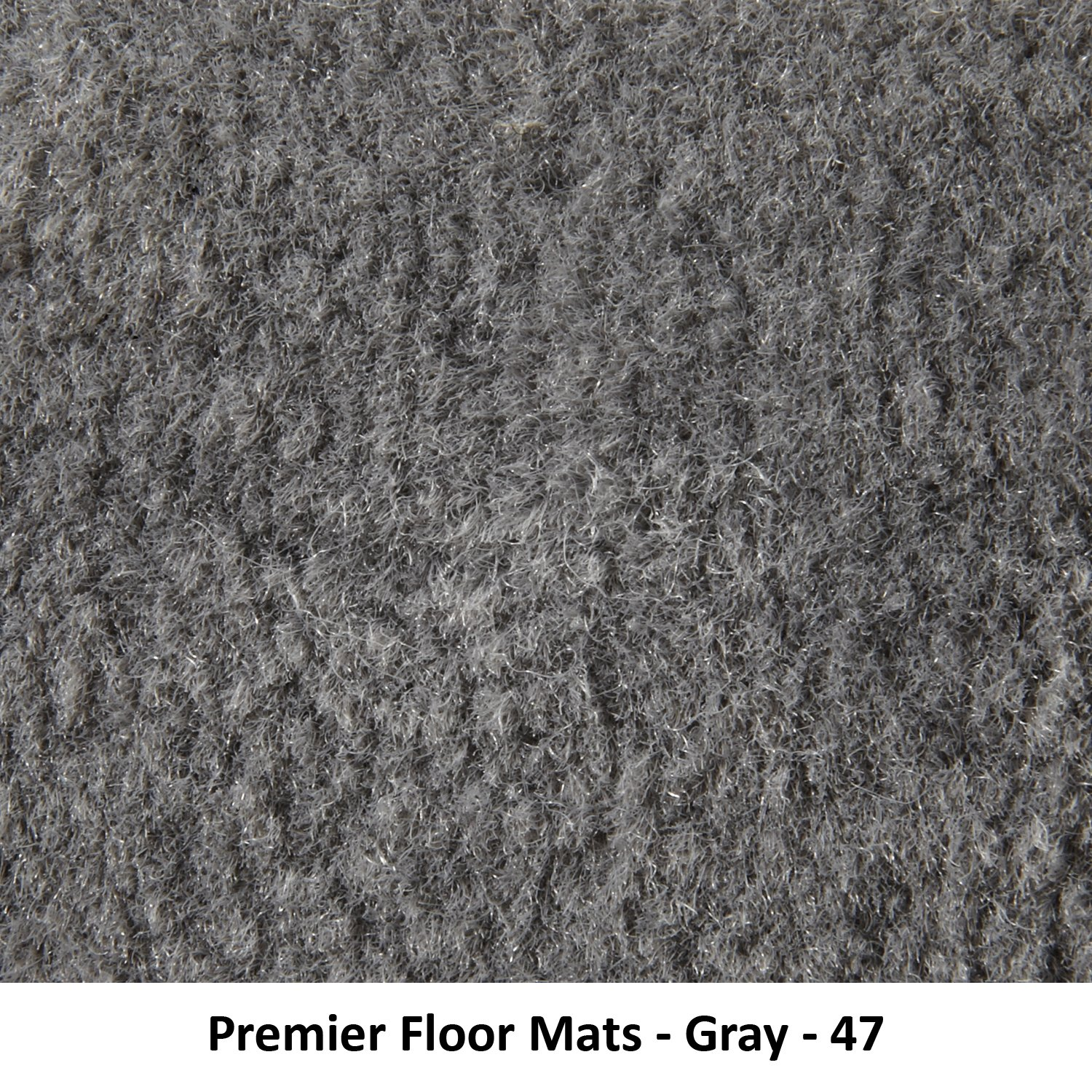 Premium Nylon, Gray Premier Custom Fit 4-piece Set with 2 piece front 1 midrunner and 1 rearrunner Carpet Floor Mats for Toyota Sienna