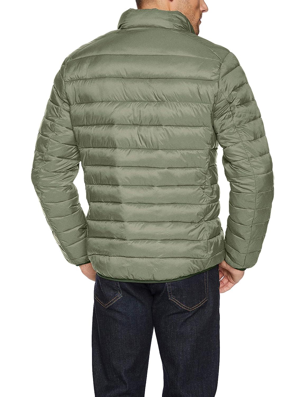 Essentials Mens Lightweight Water-Resistant Packable Puffer Jacket