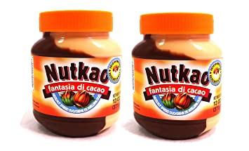 Nutkao Fantasia Di Cacao From Italy Half Hazelnut and Half Milk Duo Spread - 2-