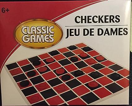 jeu de dames checkers