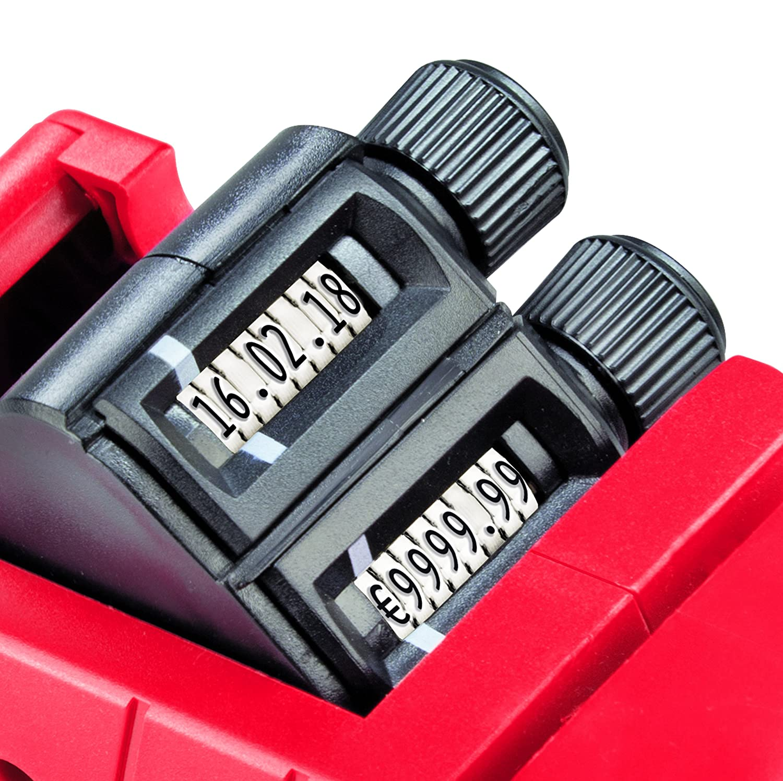 Original Meto Arrow M, M, M, Preisauszeichner 9505486 (2-zeilig, 16-stellig für 22 x 16 mm Etiketten, sofort einsatzbereit) 1 Handauszeichner, rot-schwarz B07621W7NY | Online  | Perfekt In Verarbeitung  | Sofortige Lieferung  beac8e