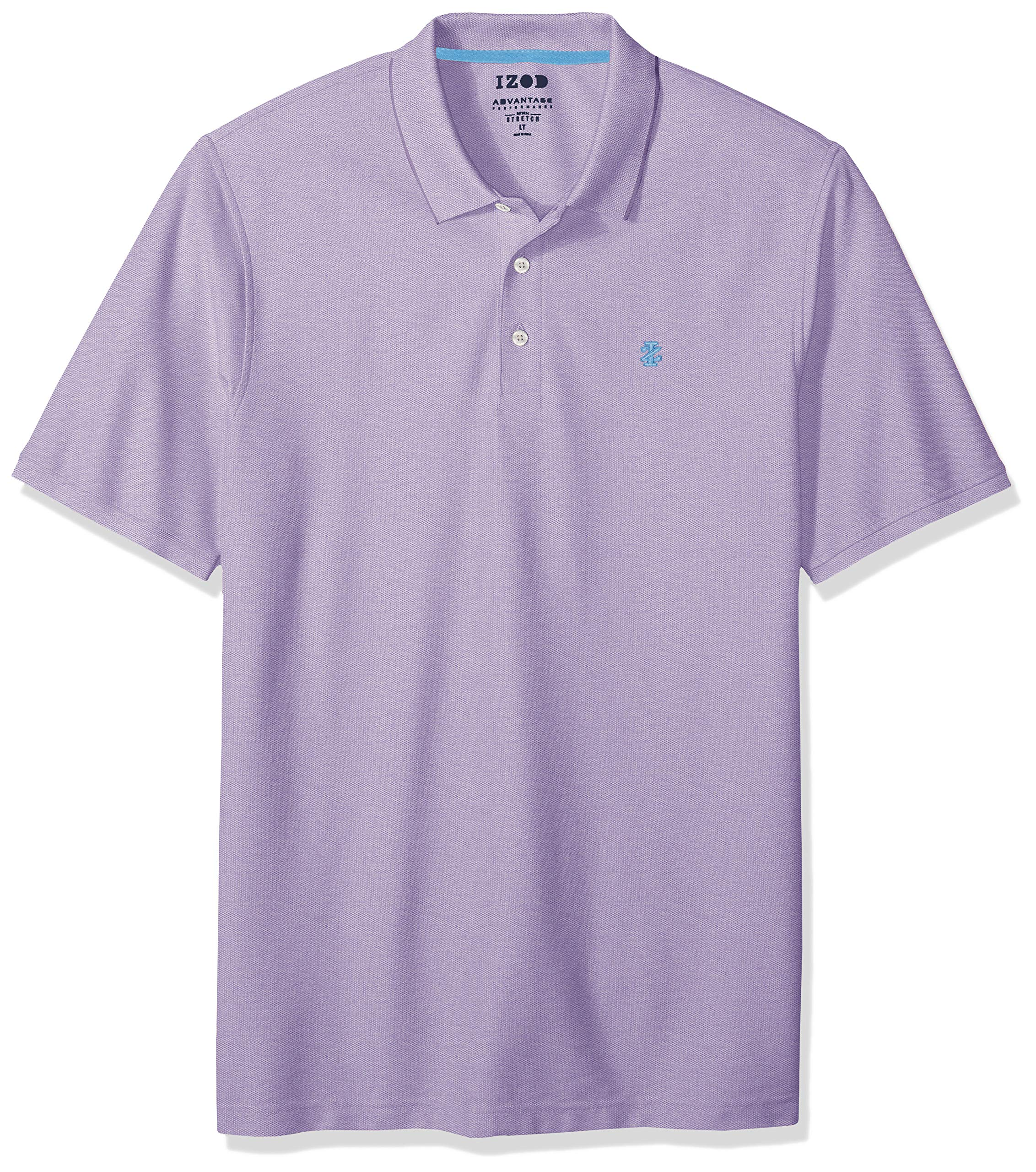 Fashion Shopping IZOD Men's Big and Tall Advantage Performance Short Sleeve