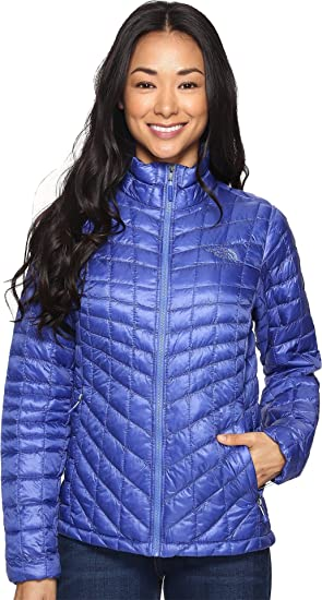 5414a6d45efd The North Face Women s Thermoball¿ Full Zip Jacket Amparo Blue (Prior  Season) Outerwear