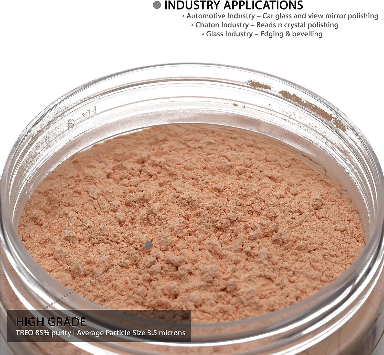 Glass Polish - Óxido de cerio GP200 (100 gramos): Amazon.es: Bricolaje y herramientas