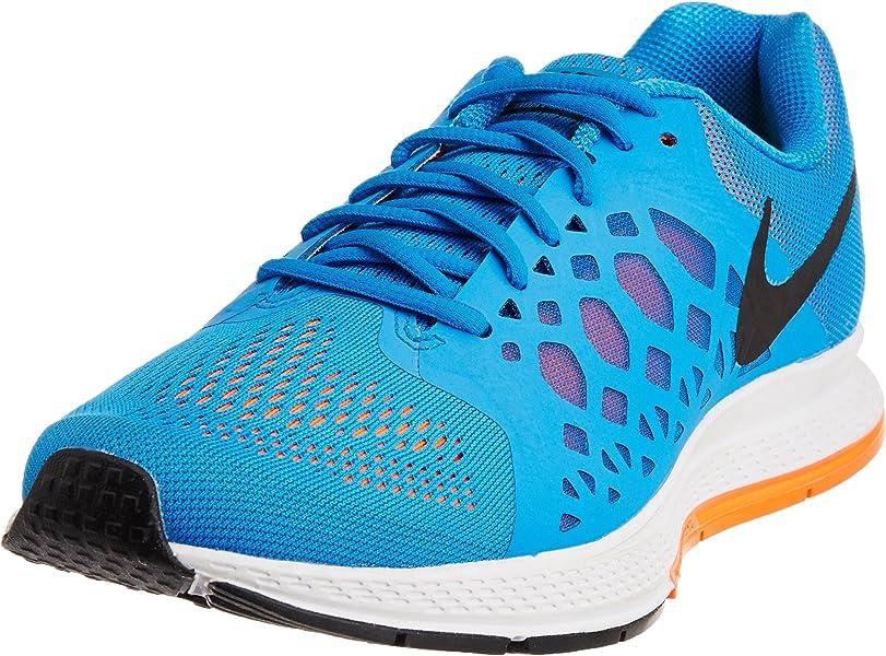 los angeles 10489 30cc2 Nike Air Zoom Pegasus 31 Zapatillas de Running, Hombre, Azul/Negro/Verde