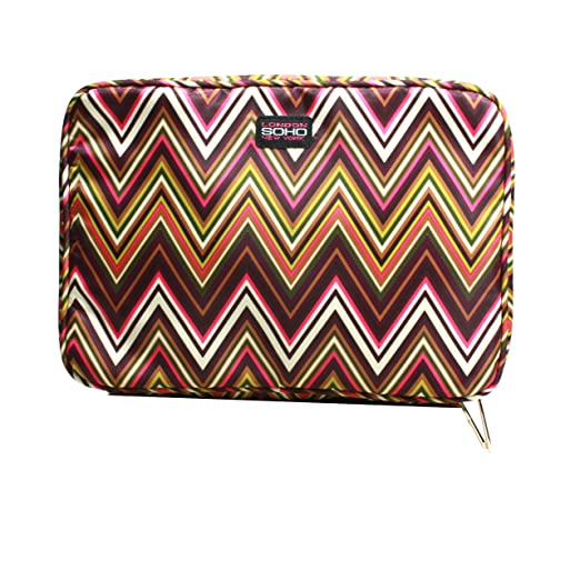 Amazon.com: LONDON SOHO NEW YORK Zig Zag Collection Cosmetic Large Organizer: Beauty