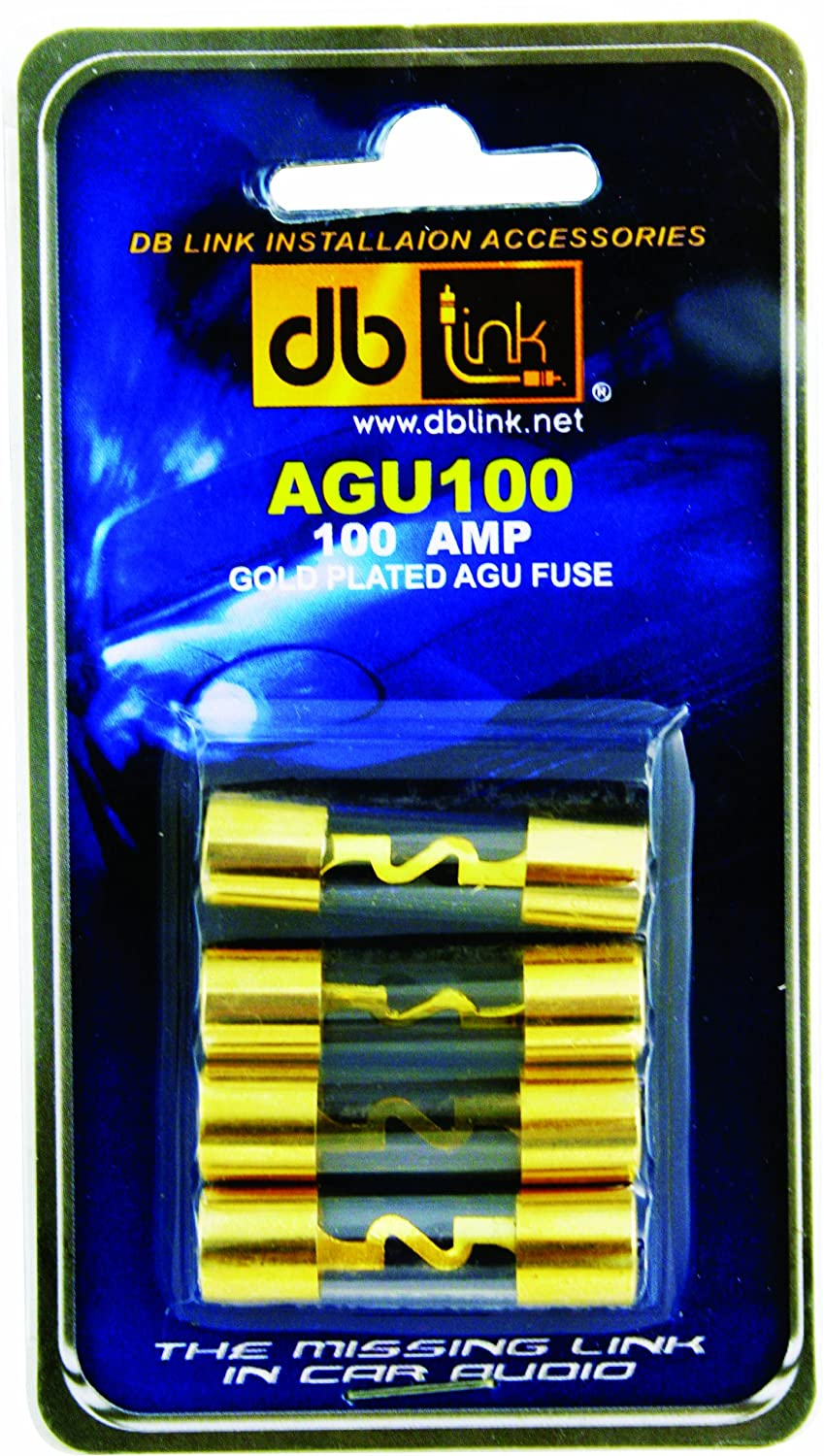 91hP1h3 CKL._SL1500_ amazon com db link agu100 gold agu 100 amp fuses car electronics 200 Amp Fuse Box at soozxer.org