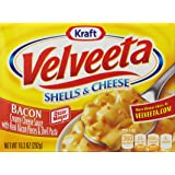 Velveeta Shells And Cheese With Bacon, 10.3-Ounce Boxes (Pack of 6)