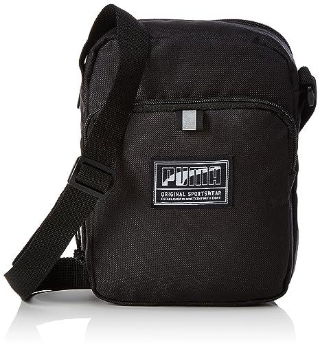 376c01621c9f Puma 2 Ltrs Black Messenger Bag (7472101)  Amazon.in  Bags