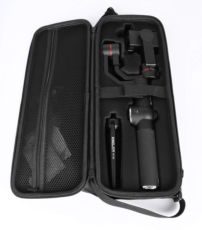 AFI V5/de 3/Ejes Handheld Gimbal bieleta para Smartphone y GoPro C/ámaras de Acci/ón Negro
