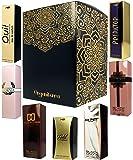 Set de 7 (siete) Perfumes de Primera Calidad en Caja de Regalo Para Mujer .Formulados En Francia -ref24-. 15 ml Cada uno en botella de lujo con caja y atomizador 7 fragancias concentradas.